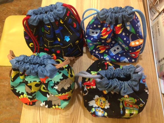 巾着袋(釣り用リール保管袋)