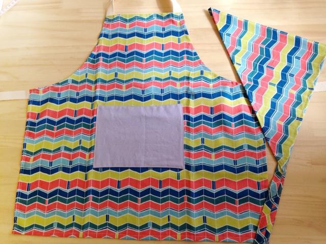 子供用エプロン&三角巾